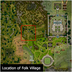 Location of Folk Village