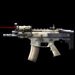 SCAR-PDW Laser