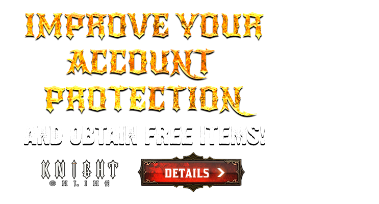 IMPROVE YOUR ACCOUNT PROTECTION AND OBTAIN FREE ITEMS!