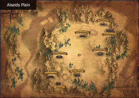 Image of Alseids Plain Map